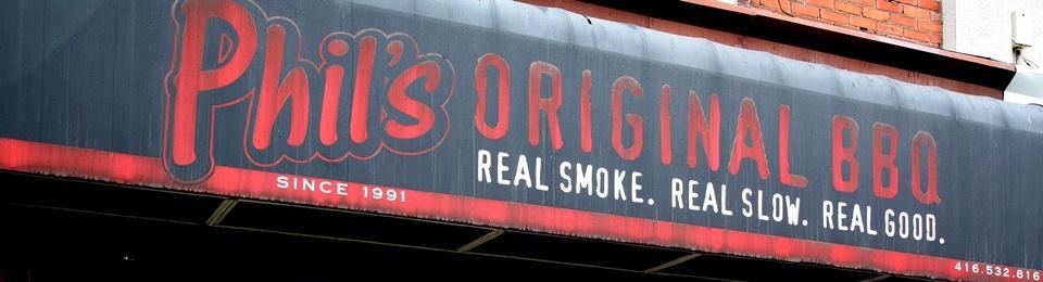 Phil's Original BBQ Toronto Ontario