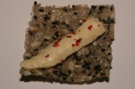 Sushi Arbor with Texmati, Brown and Red Rice with Hummus and Pink Peppercorn skins