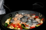 Seafood Stir-Fry on Texmati Rice