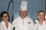 Chef Judy, Chef John Placko and Chef Brianne Nash