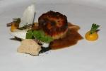 Diver Scallop, Confit Grapes, Foie Gras, Belgium Endive, Pumpkin, Truffle Crumble