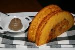Black Truffle Cornbread, Mushroom Butter