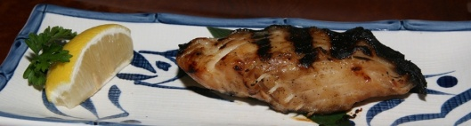 62. Gindara A filet of black cod marinated over a night in our original sauce, sweet and tender