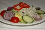 House Salad (with house made Blue Cheese Dressing)