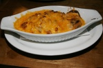 Pulled Pork Mac n' Cheese Lunch ½ Ib. $7.50 / Dinner 1 lb. $12.50 This is a family favourite with their incredible pulled pork added to it.