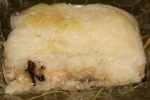 17 Steamed Glutinous Rice Wrapped with Lotus Leaf L $4.30