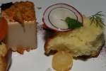 foie gras and homemade brioche