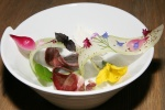 heart, celery, and pickled onion