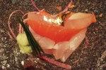 sashimi, shiso, tamari (Image © 2012 Kiki Luthringshausen)