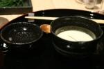 matsutake chawanmushi, pine