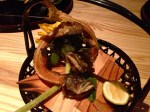 brook trout head and skeleton (Image © 2012 Kiki Luthringshausen) (We were not served this extra)