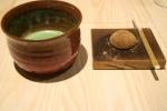 warabi mochi, toasted soy