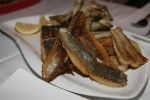Sunday Fish Fry rainbow trout fried smelts fresh Lake Erie perch