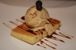 PB & J peanut butter mousse, mosto cotto