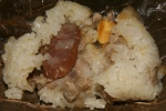 Sticky Rice with Assorted Meat in Lotus Leaf $2.40