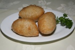 Deep Fried - Dried Shrimp & Pork Dumpling $2.40
