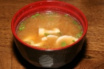 Sakekasu Pork Miso Soup 3.50 sake kasu flavoured miso soup with pork & lots of root vegetables