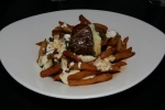 Foie Gras Poutine $17 Pan Seared Foie Gras/Monforte Sheep Curds/Cabernet Franc Jus