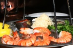 "Seafood Tower ""Crows Nest"" - $39.00 8 shrimp + 6 oysters + 2 Snow Crab Clusters"