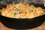 Lobster Mac 'n' Cheese - $14 Fresh Lobster + Aged Canadian Cheddar + Panko Crust