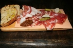 Selection of House-made Charcuterie, pickles, Mustard, Bread $13