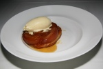 APPLE TARTE TATIN Tahitian Vanilla Ice Cream