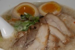"Otoko-Aji ""RYOJI"" 13 Original Ryoji style - Rich and flavourful pork bone broth, topped with pork belly Chashu, bean sprout, scallion kikurage mushroom seasoned boiled egg three extra slices of Chashu"