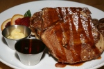 memories of the farm french toast $12 ECK home-style white bread spiralled with walnuts, cinnamon, brown sugar. Buttermilk soaked custard, griddled until golden brown and drizzled with a brown butter caramel. Served with whipped honey and citrus butter and maple syrup. add a side of bacon or sausage $3