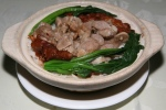 Chicken Feet and Ribs with Rice in Pot $3.50