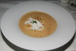 Lobster Bisque - chopped lobster, Armagnac cream