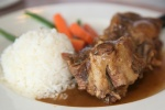 Braised Ox Tail Red Wine Sauce $13