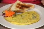 Mushroom & Cheese Omelette $11