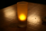Table candle décor (rechargeable battery operated)