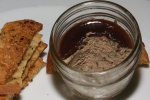 Chicken Liver Pate Port wine jelly, crostini, cornichon