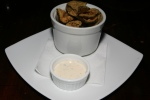 fried pickles + ranch dressing 5