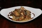 veal sweetbreads, shitake mushroom ragu, saba 13