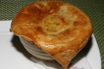 Stewed Beef Pot Pie, Mushroom & Fennel Salad