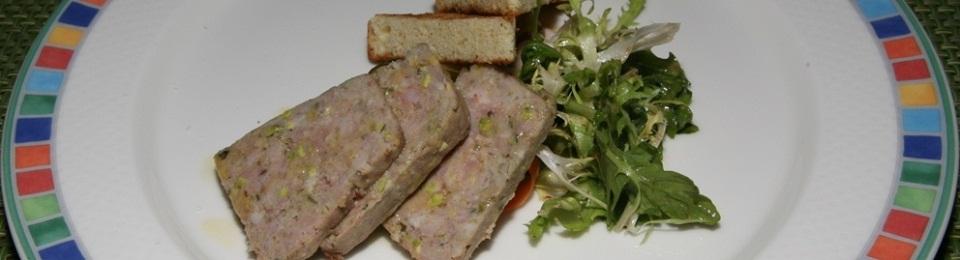 Pate de Campagne, Brioche Toast, Pickled Vegetables