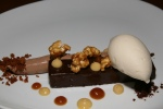 Dark Chocolate Ganache, Chantilly. Caramel Popcorn 10