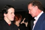 Jon Gauthier and Chef Mark McEwan