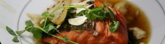 Spring Salmon Daishu Sauce