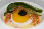 Crab and Ramps with Duck Egg $18.00
