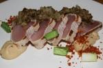 Ultra-Rare Albacore Tuna, Almonds, Eggplant $22.00