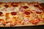 Maialona Pizza sausage pepperoni speck mozzarella tomato sauce $16.95