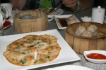 # 40 P/F Seafood Pancake – Pan Fried Seafood Pancake with Green Onion L 5.10