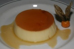Crème Caramel Baked light custard with carmelized sugar $ 4,50