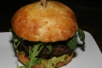 Origin beef burger + avocado + smoked mayo + arugula 17 (Chipotle and Jalapeño)