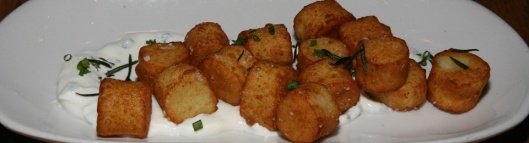 Ricotta Gnocchi Fritti house-made crema fresca, chives, rosemary 6