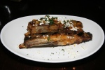 lamb ribs, sheep's feta, chile sauce 13