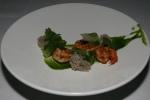 White Shrimp • chermoula • cilantro • lettuce